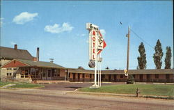 Grand Motel, 4312 Grand Ave. Postcard