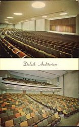 Duluth Auditorium Postcard