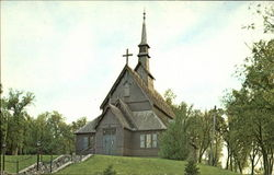 Chapel On The Hill Postcard