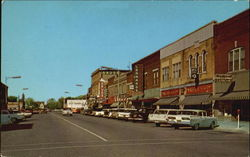 Sangamon Avenue Postcard