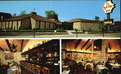The Red Star Inn, 4179 W. Irving Park Road Postcard