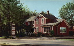Red Oaks In Historic Long Grove Postcard