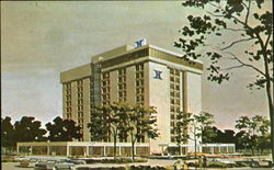 The North Shore Hilton, 9599 Skokie Boulevard Postcard