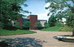 The Elijah P. Lovejoy Library, Southern Illinois University Postcard
