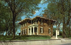 Home Of General U. S. Grant Postcard