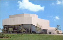 Pick - Staiger Concert Hall, Northwestern University Postcard
