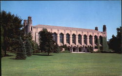 Deering Library, Northwestern University Postcard
