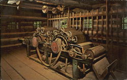 Wool Carding Machine, New Salem State Park