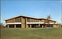 Howard Colman Library Postcard