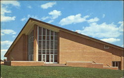 Burpee Center, Rockford College Postcard