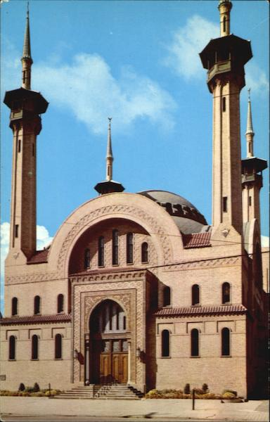 Irem Temple Mosque Wilkes-Barre Pennsylvania