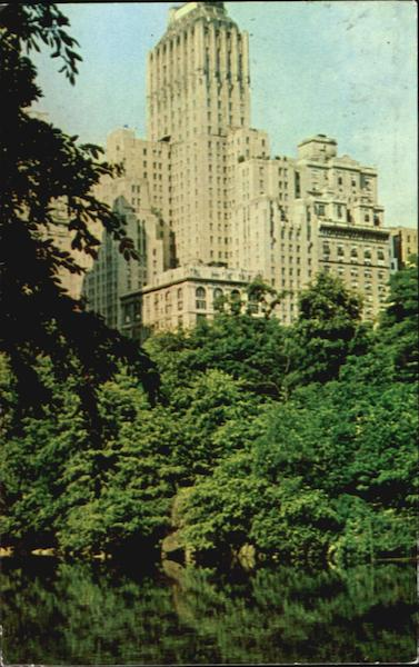 Barbizon Plaza Hotel, 106 Central Park South New York