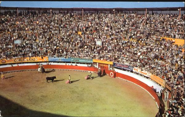Bullfights In Old Mexico