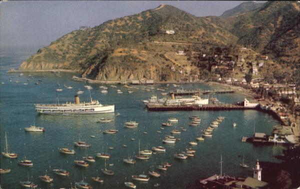 Avalon Bay Santa Catalina California