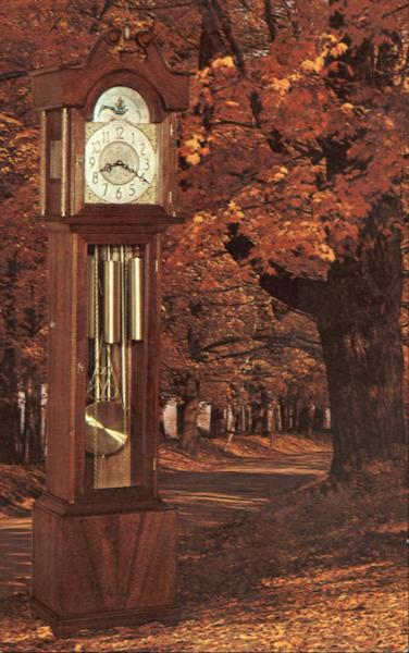 Spirit Of Mount Vernon Grandfather Clock Advertising