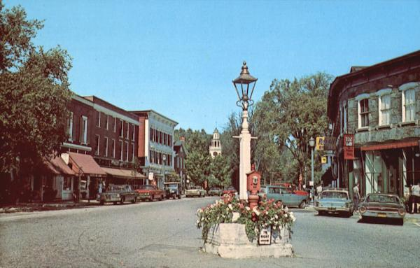 The Hub Of Woodstock Vermont