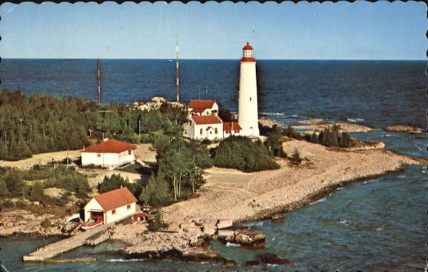 Cove Island Light Ontario Canada