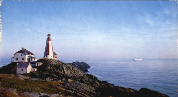 Yarmouth Light, Cape Forchu NS Canada Nova Scotia