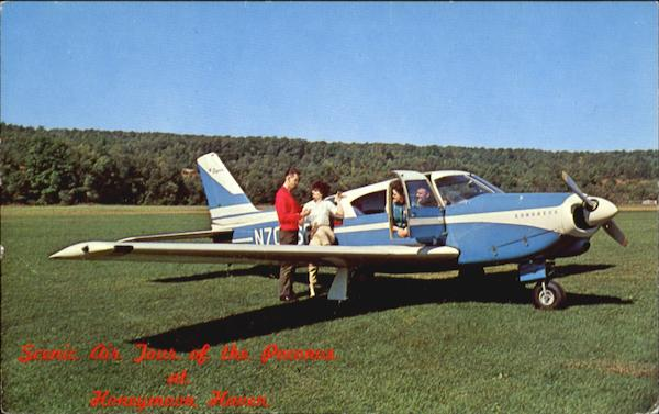Scenic Air Tour Of The Poconos Honeymoon Haven Aircraft