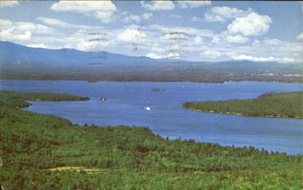 Lake Winnipesaukee From Cedar Mountain Alton Scenic New Hampshire