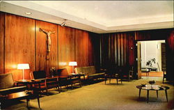 The Lounge Of Coury House, New Subiaco Abbey