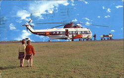 The Bea Helicopter's Postcard