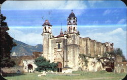 Tepoztlan Church Postcard