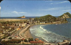 Olas Atlas Beach Postcard