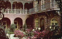 Patio Of The Bellingrath Home, Bellingrath Gardens