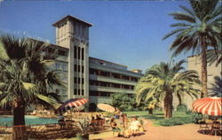 Patio Suites At Hotel Westward Postcard