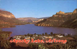 Apache Lake Postcard