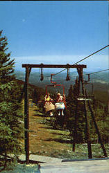 Terry Peak Chair Lift