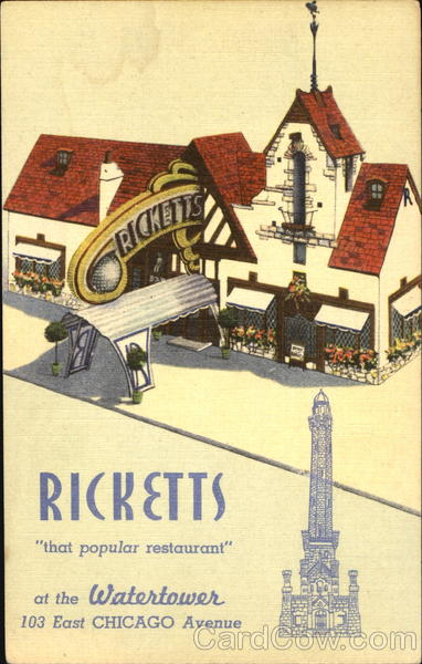 Ricketts, 103 East Chicago Avenue Illinois
