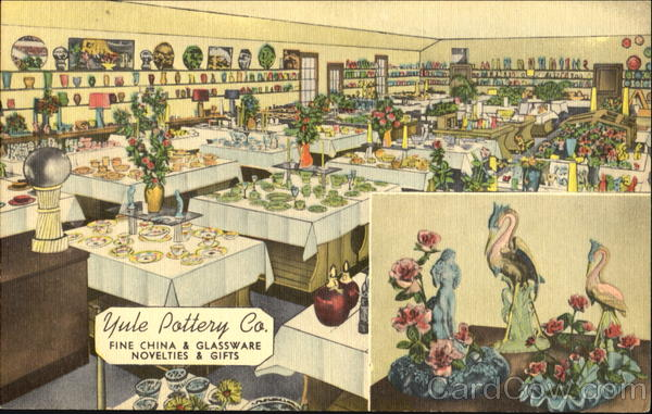 Yule Pottery Co, U. S. 41 Evansville Indiana