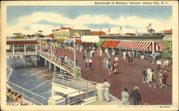 Boardwalk At Moorlyn Terrace Ocean City New Jersey