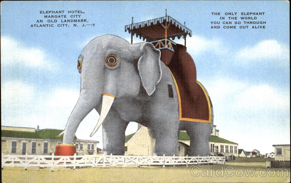 Elephant Hotel, Margate City Atlantic City New Jersey