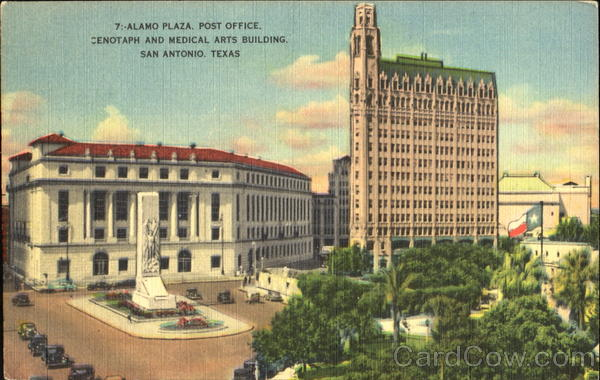 Alamo Plaza Post Office San Antonio Texas