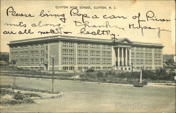 Clifton High School New Jersey