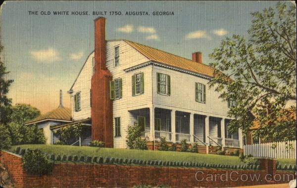 The old white house augusta georgia