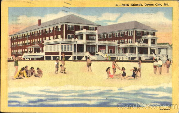 Hotel Atlantic Ocean City Maryland