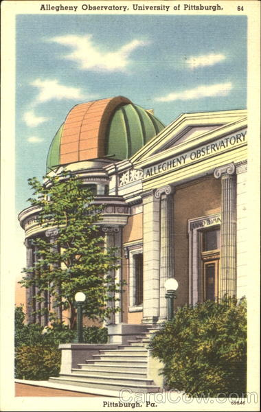 Allegheny Observatory, University Of Pittsburgh Pittisburgh Pennsylvania