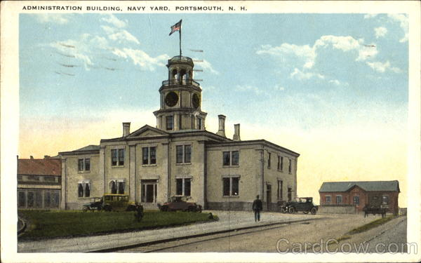 Administration Building - Holiday Hall, Navy Yard Portsmouth New Hampshire