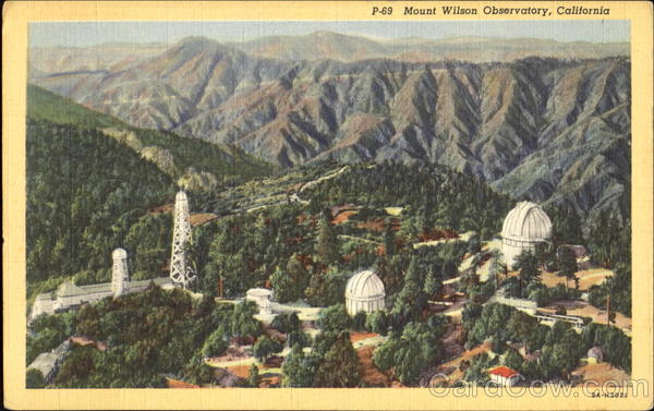Mount Wilson Observatory California