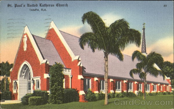 St. Paul's United Lutheran Church Tampa Florida