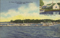 View Of Yacht Basin And Battery Park