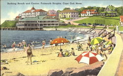 Bathing Beach And Casino, Falmouth Heights