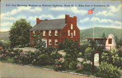 Fort Necessity Museum On National Highway, Route 40