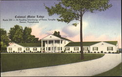 Colonial Motor Lodge, Route 222