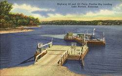 Panther Bay Landing, Highway 62 and 101 Ferry