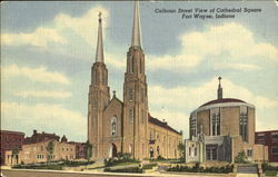 Calhoun Street View Of Cathedral Square